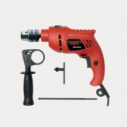Drill machine - red